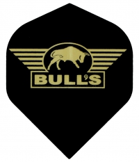 Bull's One Colour Powerflite - Solid Bull's Logo (Gold)