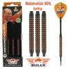 Bull's Black Titanium 90% - Matchstick 18