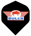 Bull's One Colour Powerflite - Solid Bull's Logo (Red)